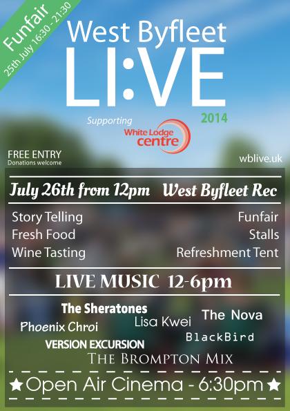 West Byfleet Live 2014