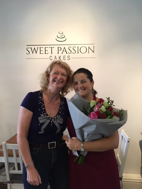 A big WBBA thank you to Jo at Sweet Passion Cakes